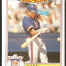 1987 Topps Glossy All Star Baseball Card # 9 New York Mets Gary Carter ex/nm