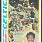 1978 Topps Basketball Card # 16 Boston Celtics Kermit Washington vg