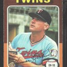1975 Topps Baseball Card # 640 Minnesota Twins Harmon Killebrew vg