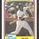1984 Drakes Big Hitters # 25 Boston Red Sox Jim Rice vg/ex