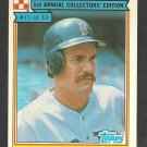 1984 Ralston Purina # 11 Boston Red Sox Wade Boggs nm/mt