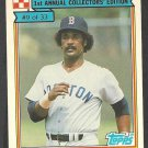 1984 Ralston Purina # 9 Boston Red Sox Jim Rice nm/mt