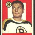BOSTON BRUINS VIC STASIUK 1959 TOPPS # 14 NR MT