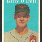 BALTIMORE ORIOLES BILLY ODELL 1958 TOPPS # 84 EX
