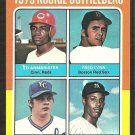 1975 Topps 622 Rookie Outfield Red Sox Fred Lynn Cincinnati Reds Kansas City Royals New York Yankee