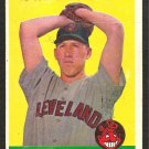 CLEVELAND INDIANS CAL McLISH 1958 TOPPS # 208 G
