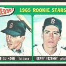 1965 Topps # 509 Boston Red Sox Rookie Stars Bob Guindon Gerry Vezendy ex/em