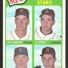 BOSTON RED SOX JIM LONBORG ROOKIE CARD RC 1965 TOPPS # 573 EM/NM
