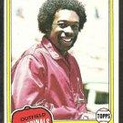 1981 Topps Baseball Card # 230 St Louis Cardinals George Hendrick nr mt