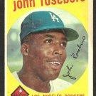 LOS ANGELES DODGERS JOHN ROSEBORO 1959 TOPPS # 441 G