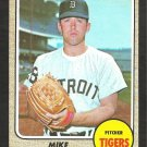 DETROIT TIGERS MIKE MARSHALL ROOKIE CARD RC 1968 TOPPS # 201 EX/EM