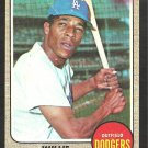 LOS ANGELES DODGERS WILLIE DAVIS 1968 TOPPS # 208 fair