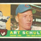 CHICAGO CUBS ART SCHULT 1960 TOPPS # 93 EX