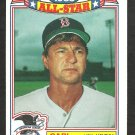 1984 Topps Glossy All Star Baseball Card # 11 Boston Red Sox Carl Yastrzemski