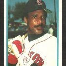 1985 Topps Glossy All Star Mail-In Baseball Card # 6 Boston Red Sox Jim Rice