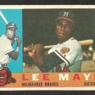 MILWAUKEE BRAVES LEE MAYE 1960 TOPPS # 246 G