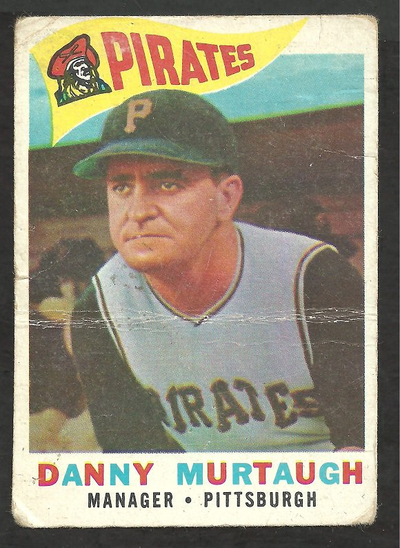 PITTSBURGH PIRATES DANNY MURTAUGH 1960 TOPPS # 223 F