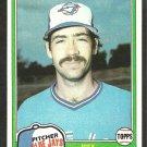 1981 Topps Baseball Card # 248 Toronto Blue Jays Joey McLaughlin nr mt