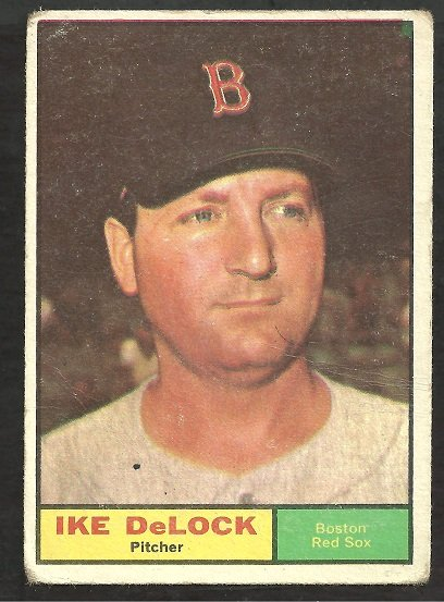 BOSTON RED SOX IKE DELOCK 1961 TOPPS # 268 G