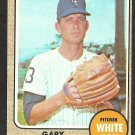 CHICAGO WHITE SOX GARY PETERS 1968 TOPPS # 210 G/VG