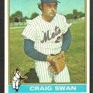 NEW YORK METS CRAIG SWAN 1976 TOPPS # 494 EX+