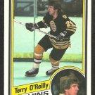 BOSTON BRUINS TERRY O'REILLY 1984 OPC O PEE CHEE # 13
