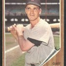 BOSTON RED SOX GARY GEIGER 1962 TOPPS # 117 G