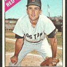 BOSTON RED SOX CHUCK SCHILLING 1966 TOPPS # 6 VG