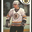BOSTON BRUINS STEVE KASPER 1985 O PEE CHEE OPC # 79