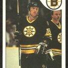BOSTON BRUINS KEITH CROWDER 1985 O PEE CHEE OPC # 159