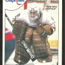 WASHINGTON CAPITALS PETE PEETERS 1985 O PEE CHEE OPC # 75