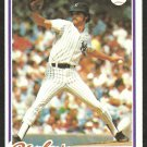 NEW YORK YANKEES RON GUIDRY 1978 TOPPS BURGER KING # 4 VG