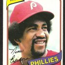 PHILADELPHIA PHILLIES NINO ESPINOSA 1980 TOPPS BURGER KING # 17 EM