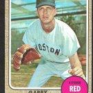 BOSTON RED SOX GARRY ROGGENBURK 1968 TOPPS # 581