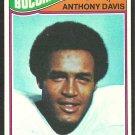 TAMPA BAY BUCS BUCCANEERS ANTHONY DAVIS 1977 TOPPS # 96 EX/EM