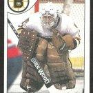 BOSTON BRUINS PETE PEETERS 1985 TOPPS # 75 NR MT