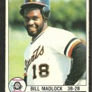 SAN FRANCISCO GIANTS BILL MADLOCK 1979 O PEE CHEE OPC # 96 EM/NM