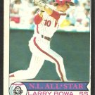 PHILADELPHIA PHILLIES LARRY BOWA 1979 O PEE CHEE OPC # 104 NR MT