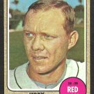 BOSTON RED SOX JERRY ADAIR 1968 TOPPS # 346 VG+/EX