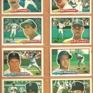 1988 1989 1990 Topps Big Baseball Boston Red Sox Team Lot 14 Roger Clemens Jim Rice Boggs +