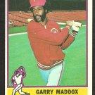 1976 Topps Baseball Card # 38 Philadelphia Phillies Garry Maddox ex mt