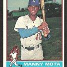 LOS ANGELES DODGERS MANNY MOTA 1976 TOPPS # 548 EX