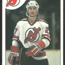 NEW JERSEY DEVILS KIRK MULLER ROOKIE CARD RC 1985 TOPPS # 84 EM/NM