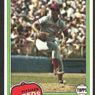 1981 Topps Baseball Card # 258 Cincinnati Reds Joe Price nr mt