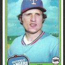 1981 Topps Baseball Card # 264 Texas Rangers Jim Norris nr mt