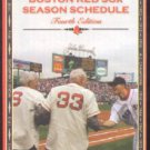 BOSTON RED SOX 2006 POCKET SCHEDULE JOHNATHAN PAPELBON JOHNNY PESKY