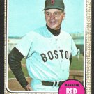 BOSTON RED SOX DICK WILLIAMS 1968 TOPPS # 87 NR MT OC