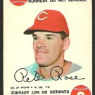 CINCINNATI REDS PETE ROSE 1968 TOPPS GAME CARD # 30