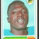 MIAMI DOLPHINS DICK WESTMORELAND 1968 TOPPS # 118 VG