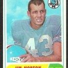 HOUSTON OILERS JIM NORTON 1968 TOPPS # 41 VG/EX